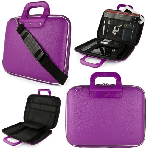 "Purple Plum Sumaclife Cady Messenger Bag For Hp Pavilion 11 X360 / Stream 11 / Chromebook 11.6"" Laptops"