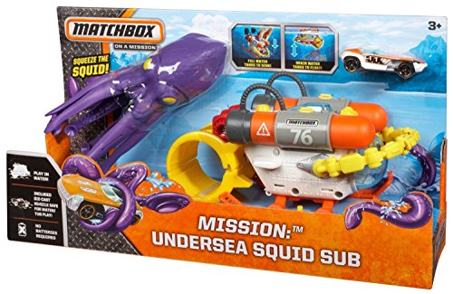Matchbox Mission: Undersea Squid Sub Playset