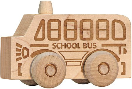 Natural Maple School Bus Scoot