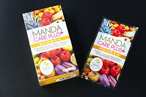 MANDA CARE PLUS+ パパイヤココア味 酵素サプリ