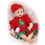 NPK Collection Reborn Baby Doll Soft Silicone 22inch 55cm Newborn Baby Doll realista de vinilo muñecas de regalo de Navidad