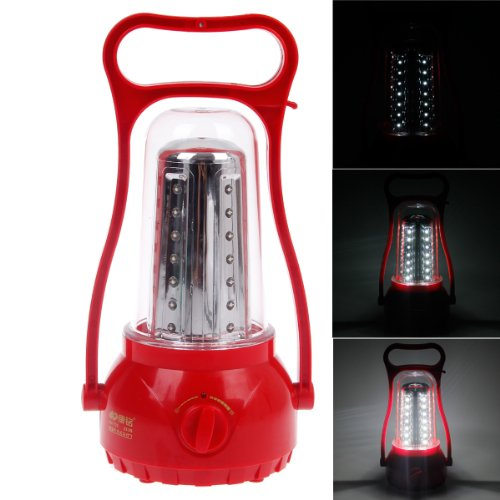 Okstation Km-770 2.8W 200 Lumens 6000K 35-Led Ultra Bright White Light Rechargeable Hurricane Lamp,Led Lantern, Outdoor Camping Lights