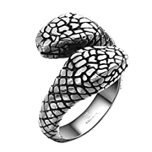 buy Ancient Mayan Retro Personality Garter Snake Ring