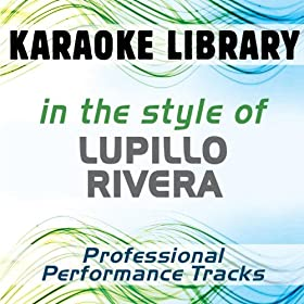 Sufriendo A Solas (Karaoke Version) [In the Style of Lupillo Rivera]