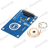 Asiawill 13,56 mhz PN532 NFC Antenne auf-Board/RFID Module mit Smartcard für Arduino/kompatibel mit Raspberry Pi