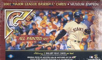 2003 TOPPS GALLERY BASEBALL CARDS HOBBY BOX