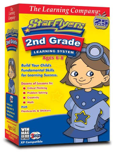 TLC Star Flyers 2nd Grade Learning System (PC