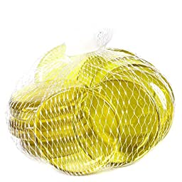 Gemnique Glass Gems Decor, X-Large, Yellow