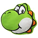 Nintendo Super Mario Bros Plush Cushion San-ei - Yoshi