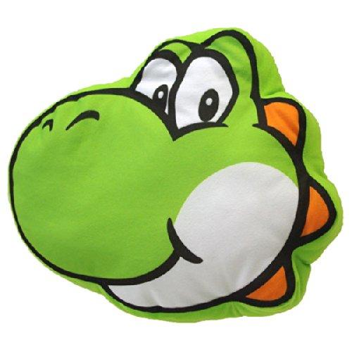 "Nintendo - Cuscino ""Yoshi"" in peluche, da ""Super Mario Bros"""