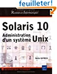 Solaris 10 : Administration d'un syst...