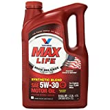 Valvoline 782256 MaxLife SAE 5W-30 High Mileage Motor Oil - 5 Quart