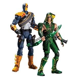 Injustice DC Green Arrow Versus Deathstroke 2-pack chiffre d'action de jeu
