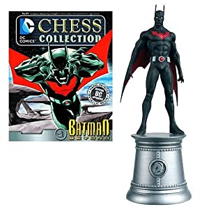 DC Chess Collector Figure & Magazine #81 - Batman Beyond (White Knight)
