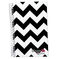 2015 Calendar Year bloom Daily Day Planner Fashion Organizer Agenda January 2015 Through December 2015 Black and White Chevron