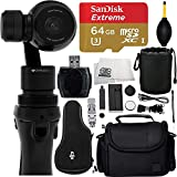 DJI Osmo Handheld 4K Camera and 3-Axis Gimbal 32GB Bundle 6PC Accessory Kit.