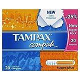 Tampax Tampons Compak Super Plus x 20