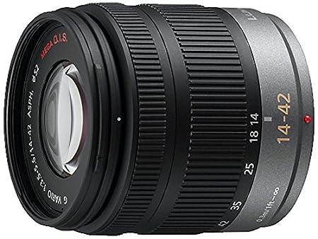 Panasonic H-FS014042E Objectif zoom grand-angle stabilisé 14-42 mm