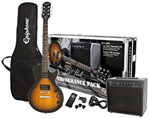 Epiphone Guitar Player Pack Series 15 Watt Electric Guitar Pack - Vintage Sunburst