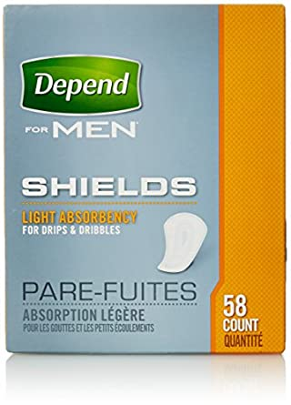 Amazon Com Depend Shields For Men Light Absorbency