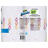 Bounty Basic Double Roll Select-a-Size Paper Towels, Prints, 2 Count (Pack of 12)