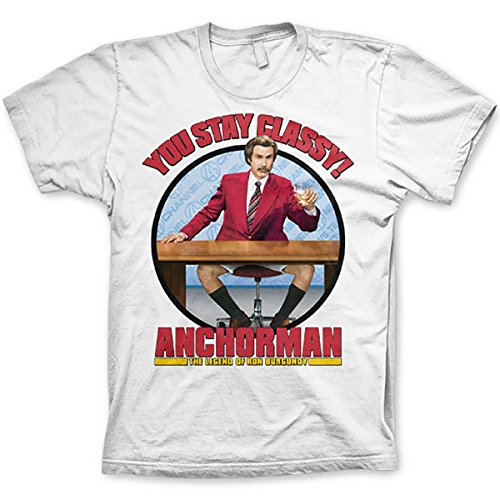 New Mens You stay classy! Anchorman Exclusive Quality T-shirt for Men XS Shirt