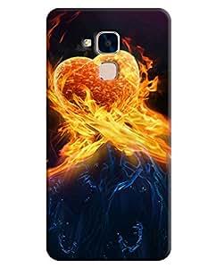 FurnishFantasy 3D Printed Designer Back Case Cover for Huawei Honor 5C