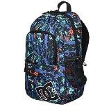 DC Detention II backpack - BP Surf The Web Splater