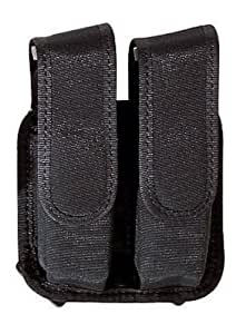 Bianchi 4620A Tuxedo Double Staggered Mag Pouch (Black, Size 1)