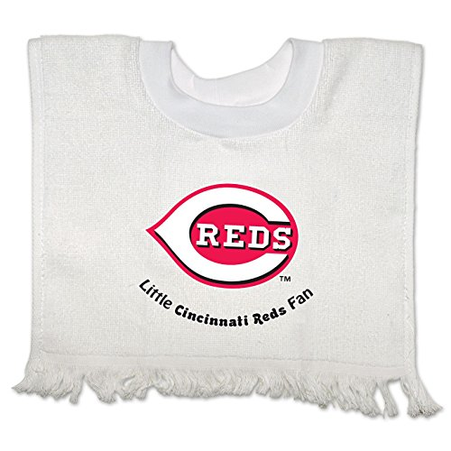 Cincinnati Reds Official Mlb Infant Pullover Baby Bib front-740587