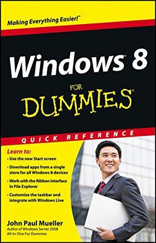 Windows 8 For Dummies Quick Reference, Mueller, John Paul