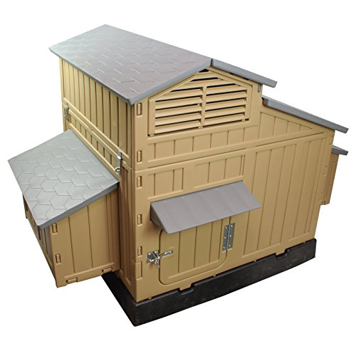 Formex Snap Lock Large Chicken Coop Backyard Hen House 4-6 Large 6-12 Bantams (Snap Lock Chicken Coop compare prices)