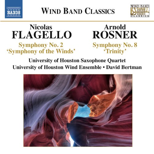 Buy Flagello: Symphony No. 2, 'Symphony of the Winds' - Rosner: Symphony No. 8, 'Trinity' From amazon