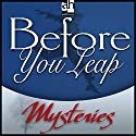 Before You Leap Audiobook by John Lutz Narrated by Jerry Orbach