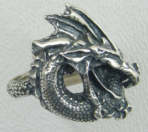 Heavy Weight Sterling Silver Dragon Ring...Why Be Ordinary?