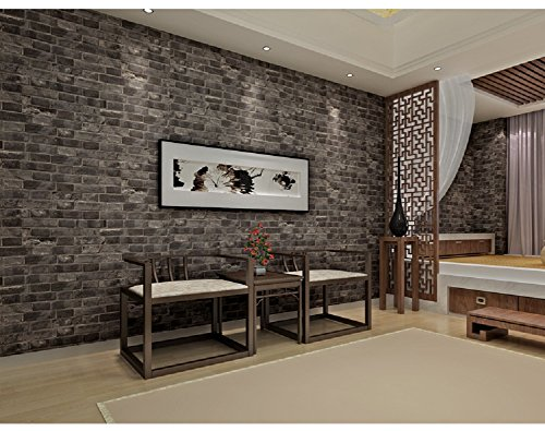 7buy modern faux brick textured wallpaper 3d effect stone for 3d wallpaper for home amazon