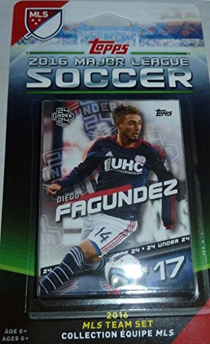 New England Revolution 2016 Topps MLS Soccer Factory Sealed 13 Card Team Set with Jose Goncalves Plus (Bunbury Box Set compare prices)