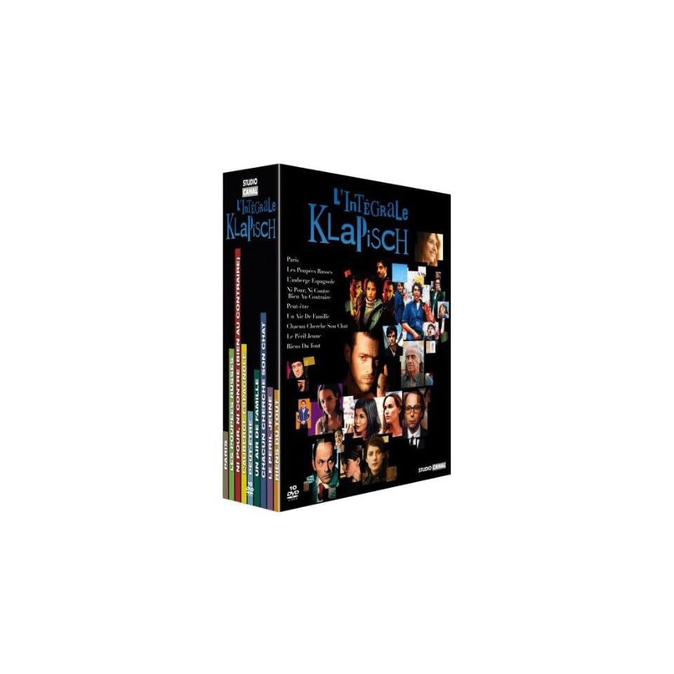Cédric Klapisch Collection   10 DVD Box Set ( Le Péril jeune / Paris / Les Poupées russes / L Auberge espagnole / Peut être / Un air de famille / Chacun cherche son chat / Riens d [ NON USA FORMAT, PAL, Reg.2 Import   France ]