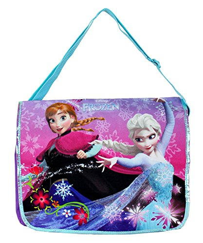 Disney Frozen Princess Elsa and Ann Messenger Bag - 1