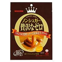 味覚糖 ノンシュガー贅沢なゼロキャラメルミルク 味80g×6袋