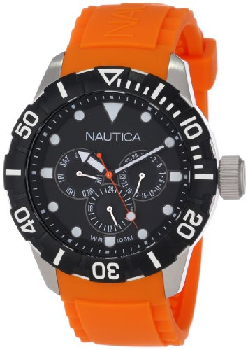 Nautica NSR 101 Multifunction Orange Unisex watch #N13646G