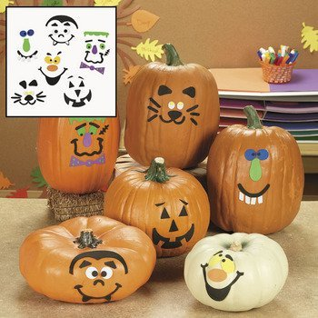Pumpkin Decorating Craft Kit - Craft Kits & Projects & Decoration Crafts