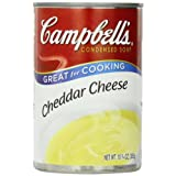 Campbell's Cheddar Cheese Soup, 10.75 Ounce Cans (Pack of 24) ~ Campbell's