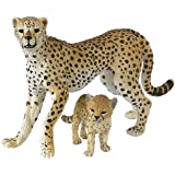 Papo 50044 Cheetah with Cub