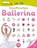 memo Activity. StickerRätselSpaß: Ballerina