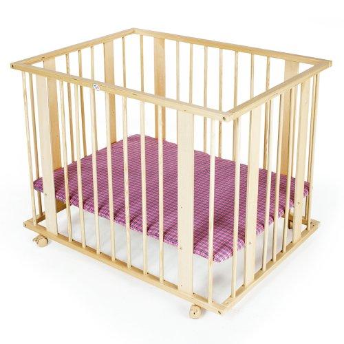 TecTake Baby playpen 4 square 100x75