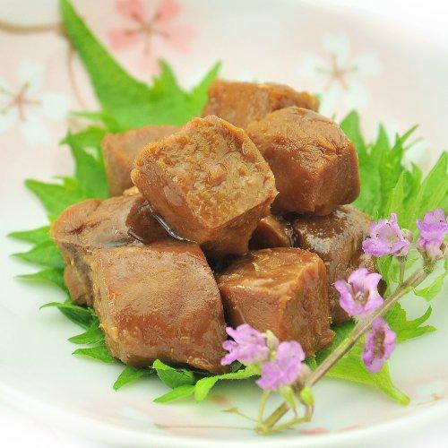 焼津港加工 まぐろ 尾肉炊き お徳用 360g(120g×3個入り) ( 佃煮 角煮 )