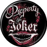 Suicide Squad(スーサイド・スクワッド) ジョーカー Property of Joker 缶バッジ [並行輸入品]