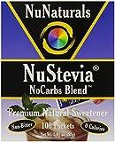 NuNaturals Nustevia Nocarbs Blend, 100 Count