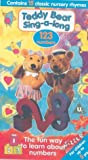 Teddy Bear Sing-A-Long: 123 Numbers [VHS]